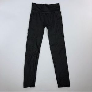 Outdoor voices solid black leggings
